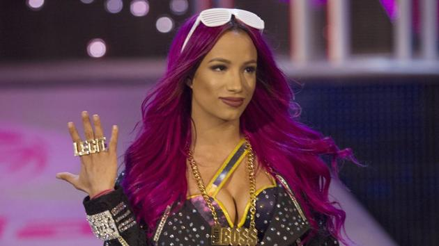 Sasha Banks is the current WWE SmackDown Women's Championship winner(Photo: Craig Ambrosio)