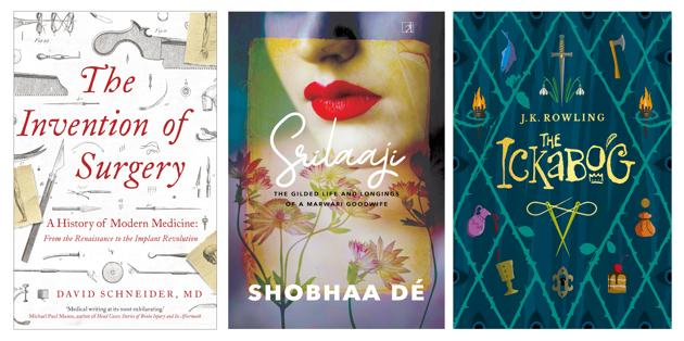 JK Rowling's latest, a history of a medical practice, and Shobhaa De's new novel -- all that on this week's list of new reads.(HT Team)