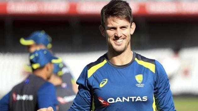 Australia's Mitchell Marsh(AP)