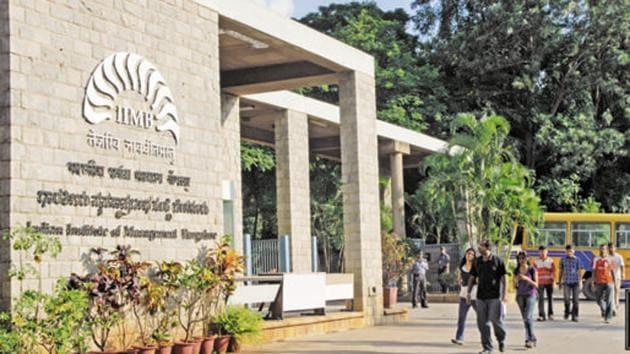 Indian Institute of Management Bangalore.(Mint)