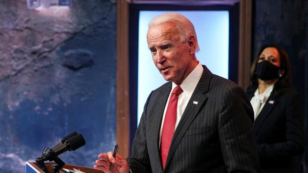 Under the Biden presidency, the US will rejoin the Paris Agreement — which took effect on November 4, the day after the elections — and a series of other international accords and treaties, and rebuild the bridge with its NATO partners. India will benefit from the US once again taking an active role internationally.(REUTERS)