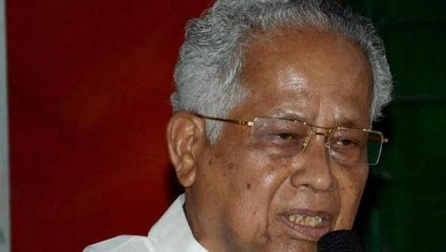 Former chief minister of Assam Tarun Gogoi.(File photo)