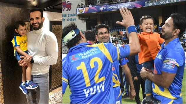 5 videos of Irfan Pathan's 3-year-old son that prove he's a cricketer in making(Instagram/imrankpathan_official)