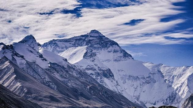 The Himalayas are commonly called the 'Third Pole' — the first and second being the North and South ones — because of the scale of the ice there.(Pixabay)