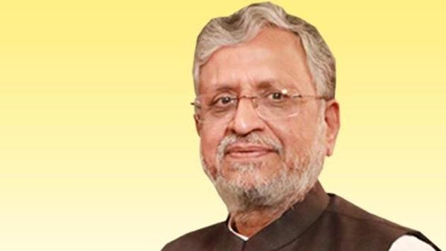 The fresh allegation by Sushil Kumar Modi against the incarcerated RJD chief of trying to destabilize the state government is likely to intensify the feud between the ruling and opposition parties in the state.(TWITTER/@SushilModi.)