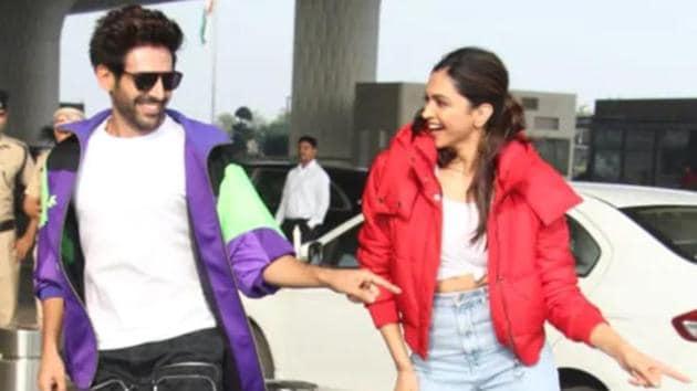 Deepika Padukone and Kartik Aaryan's hilarious exchange has fans agog.