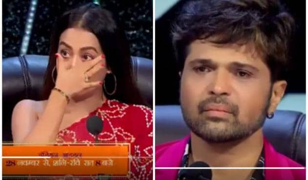 Indian Idol 12 promos: Neha Kakkar, Himesh Reshammiya and Vishal Dadlani got emotional on hearing contestant Yuvraj Medhe's story.