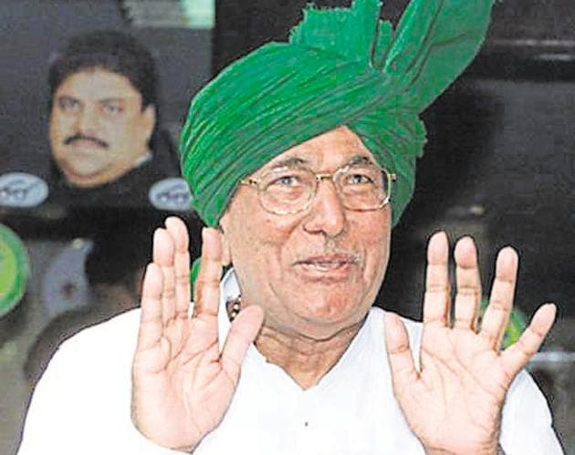 Om Prakash Chautala(HT file photo)