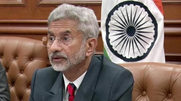 External affairs minister Dr S Jaishankar.(File photo)