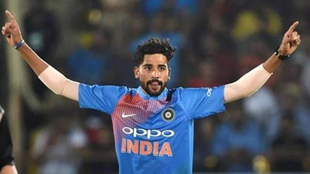 Indian cricketer Mohammed Siraj .(PTI)