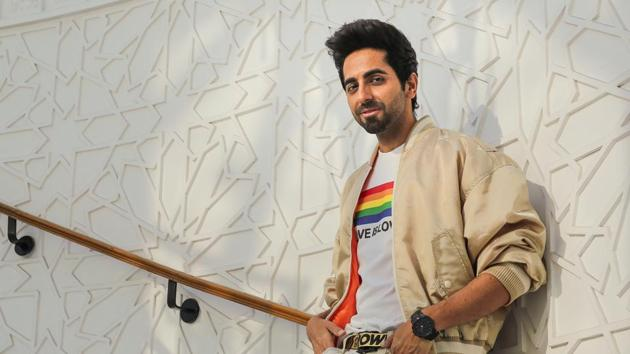 This year, Ayushmann Khurrana has been seen in films such as Shubh Mangal Zyada Saavdhan and Gulabo Sitabo that went straight to an OTT platform(Photo: RAAJESSH KASHYAP)HT)