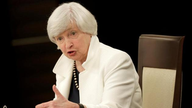 Former Federal Reserve Chair Janet Yellen.(Reuters)