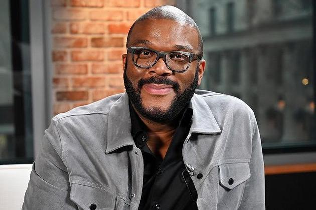 Tyler Perry opened his studios in Atlanta for four hours where his studio's employees gave away food and gift cards to nearly 5000 families.