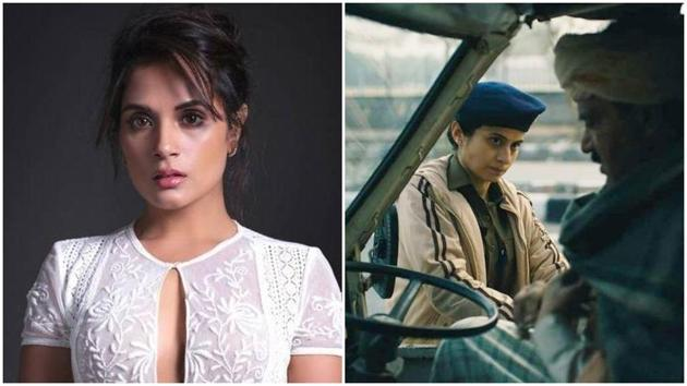 On a person decrying Delhi Crime's win at the International Emmys, Richa Chadha says one needs to 'fix reality' first.