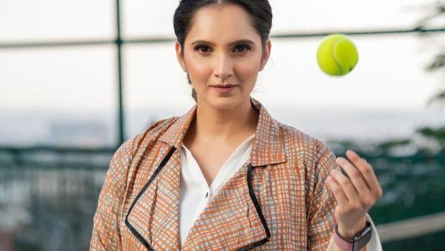 Indian tennis star Sania Mirza(HT Sports)