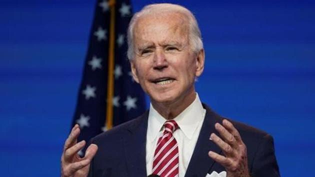 US President-elect Joe Biden.(REUTERS)