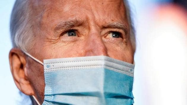 US President-elect Joe Biden will give a speech on Wednesday highlighting the challenges facing Americans as the nation faces a surge in coronavirus infections.(Reuters)