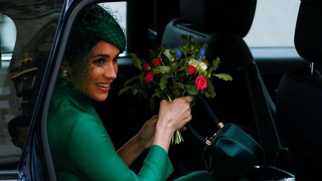FILE PHOTO: Meghan, Duchess of Sussex, in London, Britain March 9, 2020.(REUTERS)