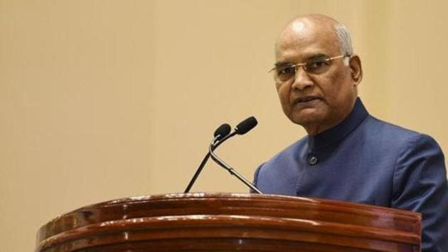 In his inaugural address at an annual conclave of the presiding officers of Parliament and various state legislatures, President Ram Nath Kovind made a series of significant points — which may appear cliched, but are central to the functioning of any democracy(Vipin Kumar/HT PHOTO)