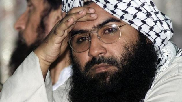 Mufti Asghar is the younger brother of JeM chief and UN designated global terrorist Masood Azhar (in photo) who is reported to have been under treatment for a life-threatening spine aliment(Reuters/AP)