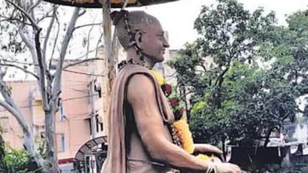 Tulsidas who authored the Ramcharit Manas is associated with Rajapur, a town in Chitrakoot.(HT FILE PHOTO)