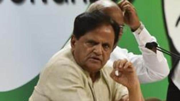 Ahmed Patel.(HT Archive)