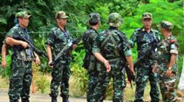 The NSCN-IM described counter-insurgency operations against its cadres in Manipur and Arunachal Pradesh as a rude shock.(HT FILE PHOTO)