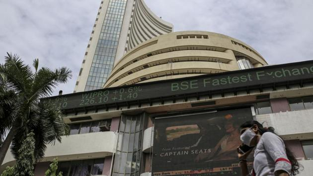 The S&P BSE Sensex was little changed at 44,269.34 as of 9:53 a.m. in Mumbai, while the NSE Nifty 50 Index was also flat. Both indexes are trading close to record highs set Tuesday.(Bloomberg)