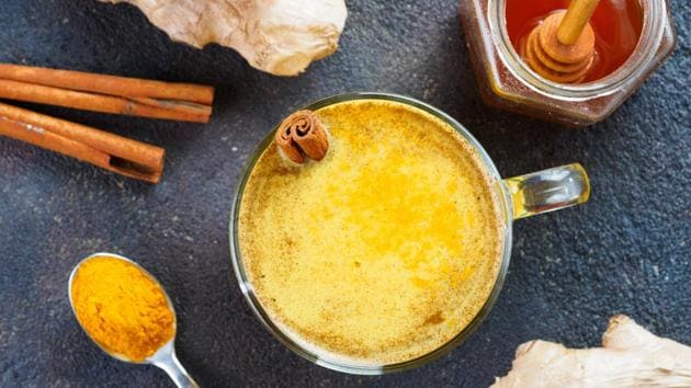 Turmeric milk or Golden milk is one of the easiest ways to consume turmeric.(Photo: Shutterstock)