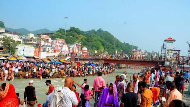 File photo: Haridwar, Uttarakhand.(HT File Photo)