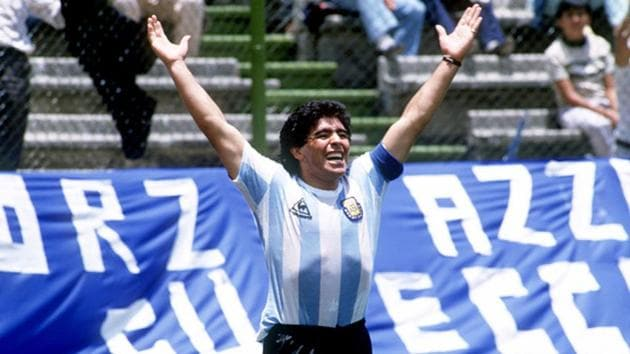 The year 1986 of football will always belong to Diego Maradona.(Getty Images)