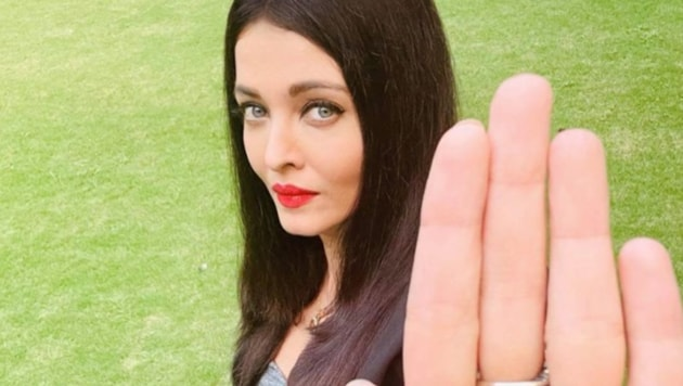 Aishwarya Rai has shared a new picture.