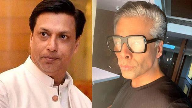 Karan Johar has responded to Madhur Bhandarkar's grievances over a show title.