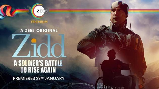 Amit Sadh plays a war hero in Zidd.