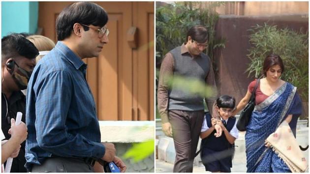 Abhishek Bachchan is in Kolkata for Bob Biswas shoot.