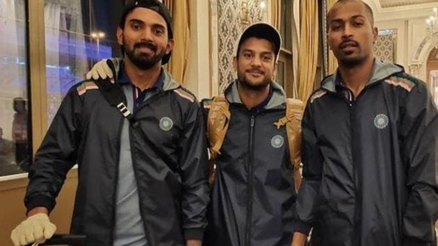 Indian players shift to new hotel ahead of 1st ODI against Australia(Instagram)