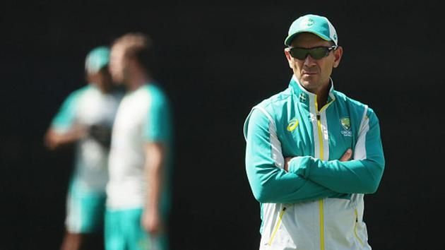 File image of Australia head coach Justin Langer.(Getty Images)