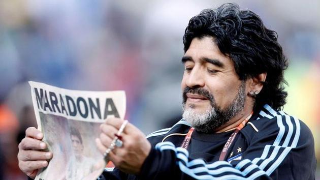 FILE PHOTO: Diego Maradona.(Action Images)