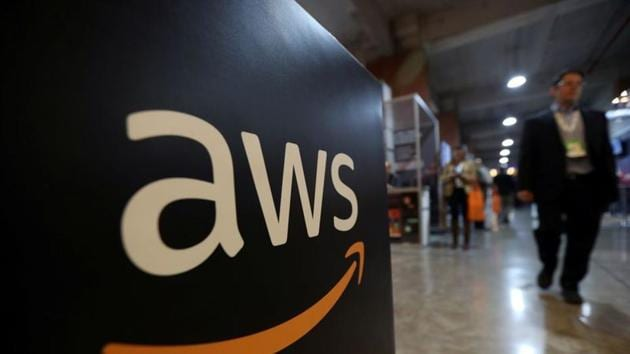 Sales from AWS, which sells data storage and computing power in the cloud, rose about 29% in the third quarter.(Reuters File Photo)