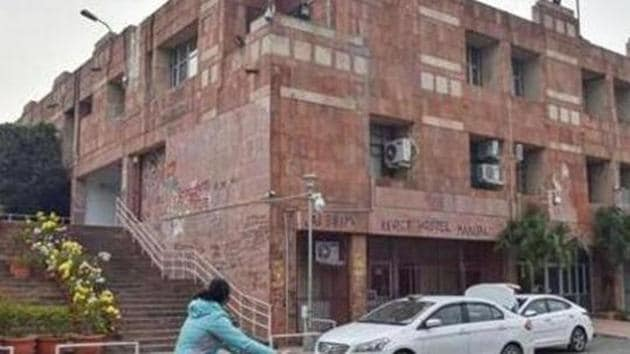 Eight professors of the Jawaharlal Nehru University have written to President Ram Nath Kovind alleging irregularities in appointment process at the School of Physical Sciences.(PTI file)