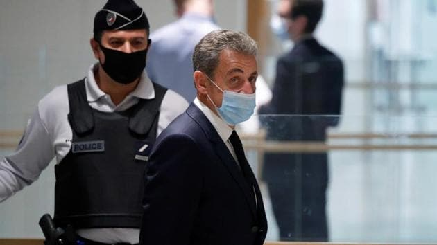In the current case, Sarkozy is accused of having tried to illegally obtain information from Azibert about a campaign finance investigation in 2014.(Reuters Photo)