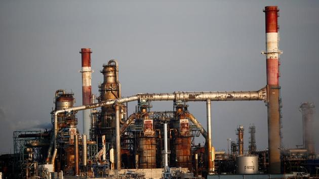 French oil giant Total Refinery is seen in Donges, France, November 25, 2020.(Reuters File Photo)
