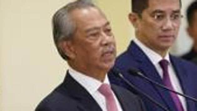 Malaysian Prime Minister Muhyiddin Yassin.(AP file pho)