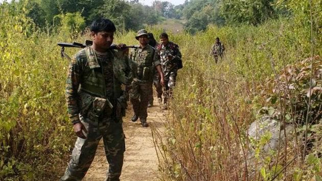 The gunfight between the forces and Maoists took place in the Darbha forest area which falls under Kutru police station.(Representational Image)
