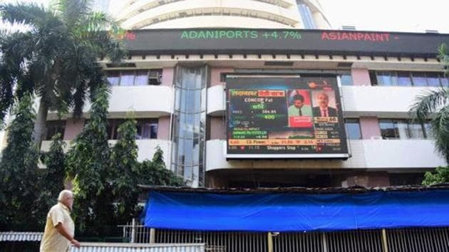Sensex rallies 431 points to settle at 44,259; Nifty surges 128 points to 12,987(PTI)