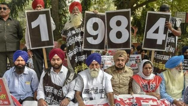 The case pertains to the riots at Gurudwara Pulbangash in North Delhi where three people were killed on November 1, 1984, a day after the assassination of then Prime Minister Indira Gandhi by her Sikh bodyguards.(PTI file photo)