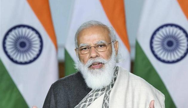 Prime Minister Narendra Modi will take a three-city tour to take stock of the vaccine development situation on Saturday.(PTI)