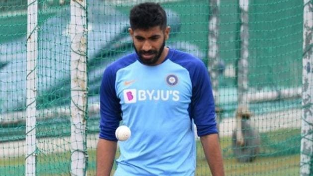 File image of Jasprit Bumrah in the nets.(Getty Images)