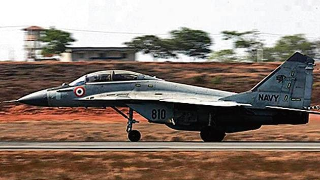 Thursday's crash is the fourth accident involving the MiG-29K maritime fighter fleet.