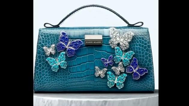 The image shows the bag created by Italian luxury brand Boarini Milanesi.(Instagram/@boarinimilanesi)
